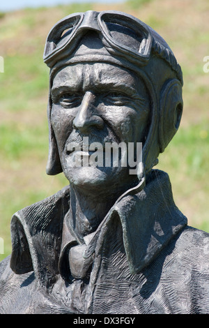 The RAF Memorial at Capel-le-Ferne Kent England UK - Stock Photo