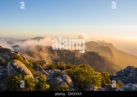 Cloud Rolling In Over Twelve Apostles at Sunset - Stock Photo