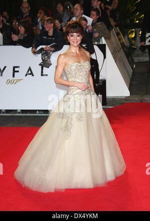 Helen McCrory James Bond Skyfall World Premiere held at ...
