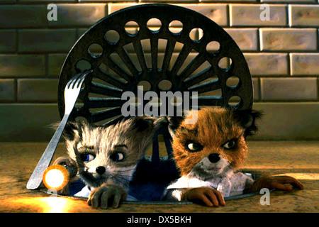 FANTASTIC MR FOX (2009) WES ANDERSON (DIR) MOVIESTORE COLLECTION LTD - Stock Photo