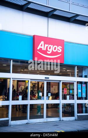Argos shop, Brixton, London, UK - Stock Photo