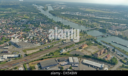 Kehl am Rhein, Black Forest, Germany - Stock Photo