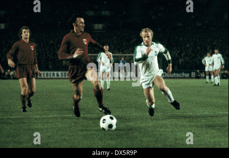 football, European Champion Clubs Cup, Champions League, 1976/1977, last sixteen, return leg, Rheinstadion Duesseldorf, - Stock Photo