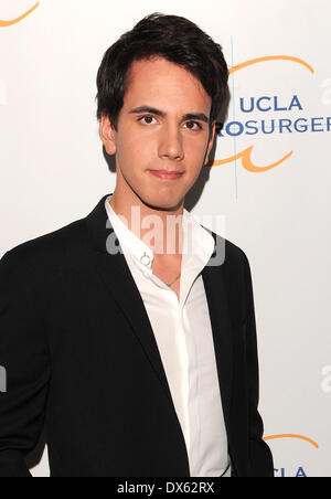 Cody Karey UCLA Department of Neurosurgery 2012 Visionary Ball at the Beverly Wilshire Hotel - Arrivals Los Angeles, - Stock Photo