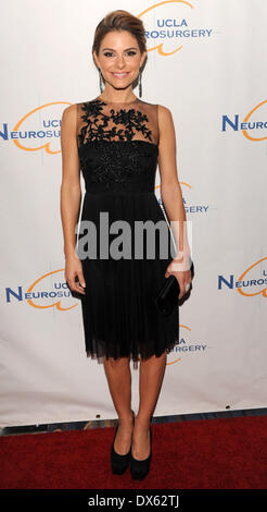 Maria Menounos UCLA Department of Neurosurgery 2012 Visionary Ball at the Beverly Wilshire Hotel - Arrivals Los - Stock Photo