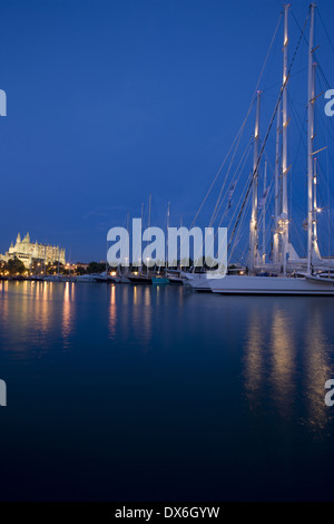 The Superyacht Cup in Palma de Mallorca - Stock Photo
