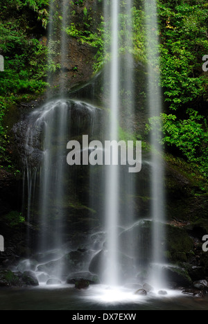 Yuhi Waterfall, Kanagawa Prefecture, Japan - Stock Photo