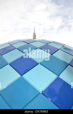 dome of the mosque against the sky - Stock Photo