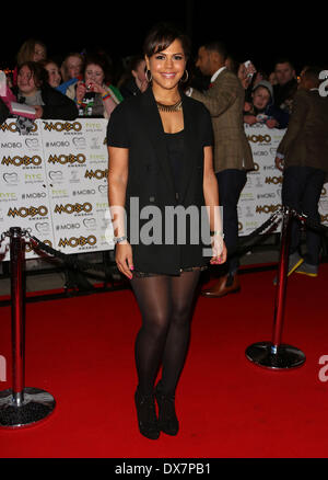 Lenora Crichlow The MOBO awards 2012 held at the Echo Arena - Arrivals Liverpool, England - 03.11.12 Featuring: - Stock Photo