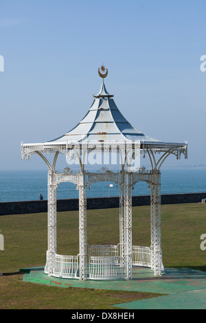 Southsea bandstand on the seafront. - Stock Photo