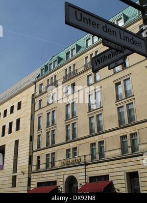 Hotel Adlon Kempinski, Berlin, Germany. - Stock Photo