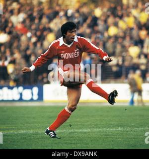 football, Bundesliga, 1979/1980, Wedau Stadium, MSV Duisburg versus 1. FC Cologne 0:2, scene of the match, Yasuhiko - Stock Photo