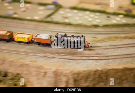 Model Railway Hornby - Stock Photo