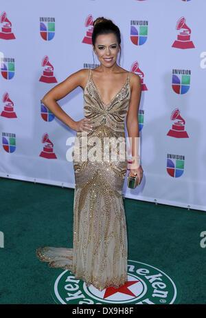 Beatriz Luengo 13th Annual Latin Grammy Awards held at the Mandalay Bay Resort and Casino - Arrivals Las Vegas, - Stock Photo