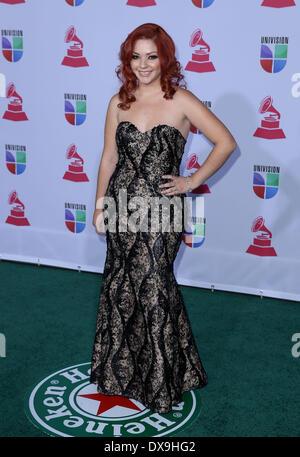 Marilyn Odessa 13th Annual Latin Grammy Awards held at the Mandalay Bay Resort and Casino - Arrivals Las Vegas, - Stock Photo