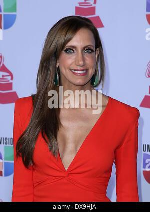 Lili Estefan 13th Annual Latin Grammy Awards held at the Mandalay Bay Resort and Casino - Arrivals Las Vegas, Nevada - Stock Photo