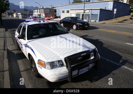 A Vancouver Police Department car, Vancouver, British Columbia, Canada - Stock Photo