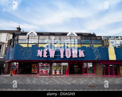 Amusement Arcade at Southend-On-Sea, Essex, UK - Stock Photo