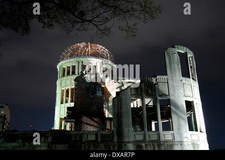 Atomic Bomb Dome, Hiroshima - Stock Photo