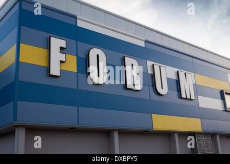 Forum Leisure Centre Billingham Teesside Cleveland England UK - Stock Photo