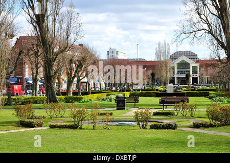 Welwyn Garden City centre Stock Photo: 85154986 - Alamy