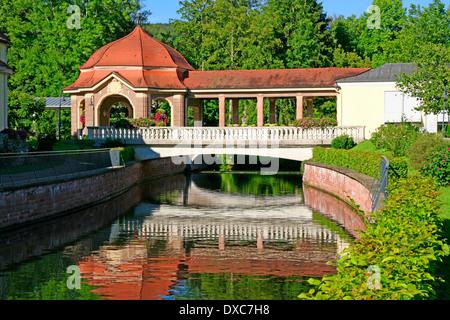Spa gardens, Bad Bruckenau