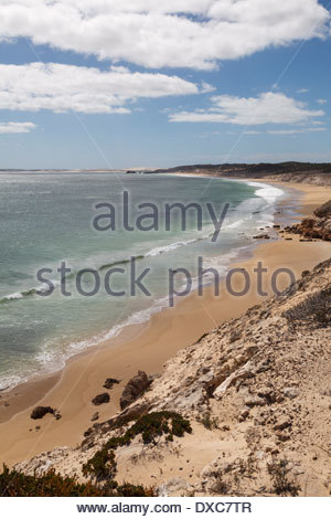 Beach near Point Avoid, Coffin Bay National Park - Stock Photo