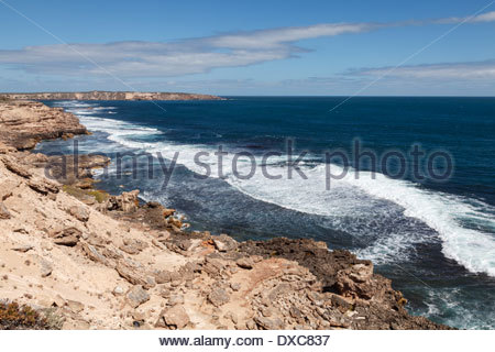 View from Avoid Point, Coffin Bay National Park - Stock Photo