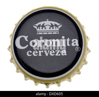 Beer bottle cap - Coronita / Corona (Spain) - Stock Photo