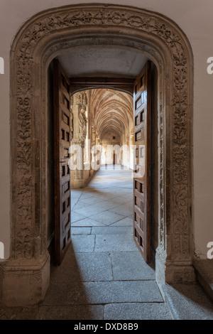 Monastery of San Juan de los Reyes, Toledo, Spain. - Stock Photo