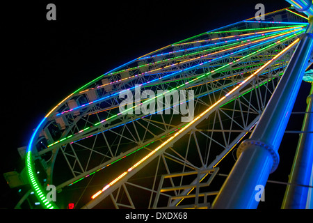 SkyWheel in Myrtle Beach, South Carolina - Stock Photo