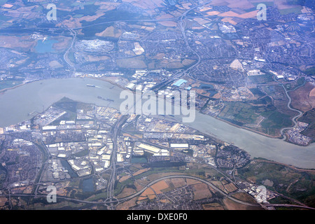 Queen Elizabeth bridge, London, England - Stock Photo
