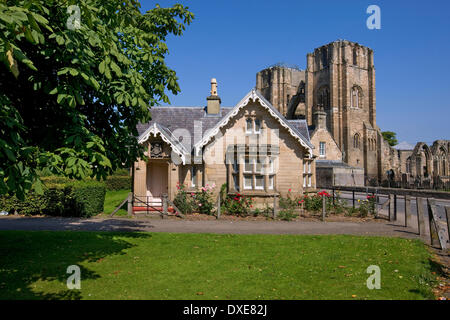Elgin Cathedral, City of Elgin ,Moray, - Stock Photo