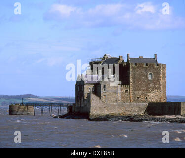 15thcent Blackness castle on the shore of the Firth of Forth.near Linlithgow. - Stock Photo