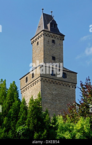 Tower of Kronberg Castle, Kronberg im Taunus, Hesse, Germany