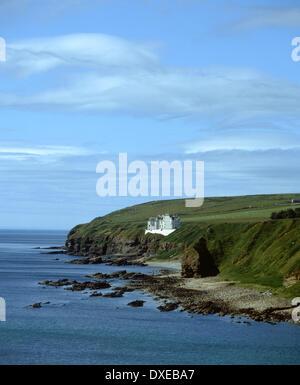 Dunbeath Castle, Caithness, N/E Scotland. - Stock Photo