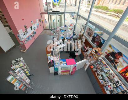 An Lanntair Art Centre, Stornoway, Isle of Lewis - Stock Photo
