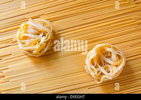Pasta composition - Stock Photo