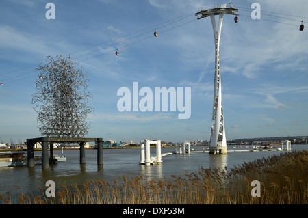 Emirates Airline Cable Car - Stock Photo