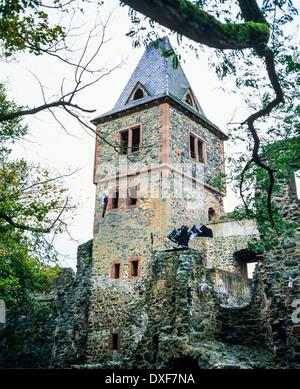 burg frankenstein castle 13th century with halloween. Black Bedroom Furniture Sets. Home Design Ideas