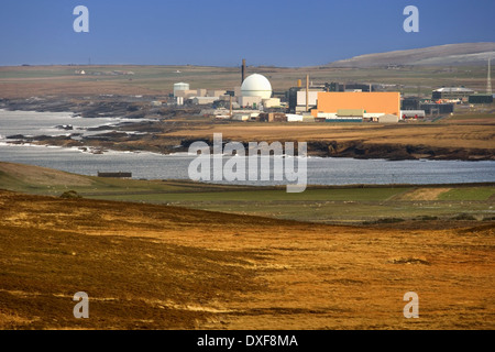 Dounreay Nuclear Power Plant - Scotland - Stock Photo