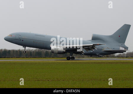 ... TriStar Aircraft Operated By The RAF Landed For The Final Time For  Storage And Eventual Scrapping