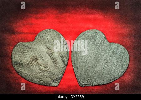 Hearts of Stones - Stock Photo