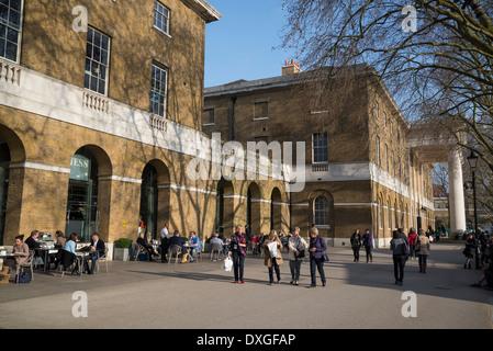 Gallery Mess Restaurant, Bar & Cafe, Duke of York's HQ, King's Rd, London, UK - Stock Photo