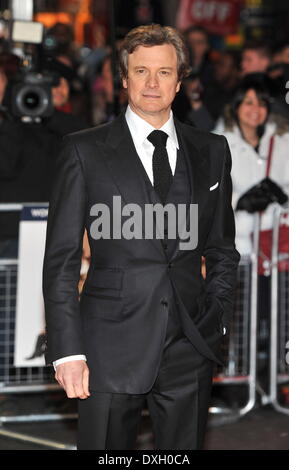 Colin Firth Gambit - world film premiere held at The Empire, Leicester Square - Arrivals. London, England - 07.11.12 - Stock Photo
