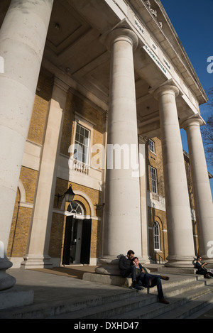 Saatchi Gallery, Duke of York's HQ, King's Rd, London, UK - Stock Photo