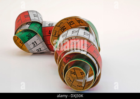 rolling tape - Stock Photo