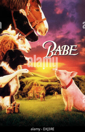 BABE  THE GALLANT PIG - Stock Photo