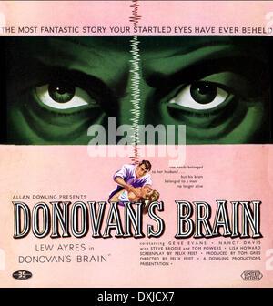 DONOVAN'S BRAIN - Stock Photo
