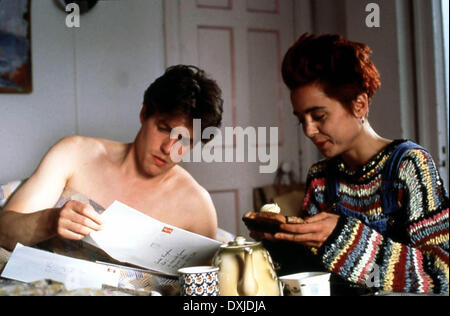 Four weddings and a funeral hugh grant and anna chancellor for Four weddings and a funeral director mike